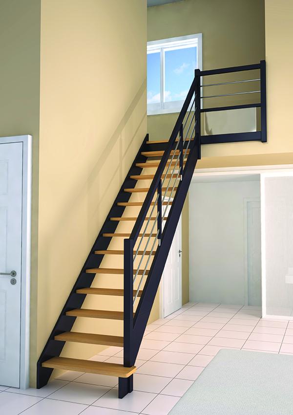 escalier riaux prix top escalier sur vo te sarrasine forme mat riaux prix ooreka with escalier. Black Bedroom Furniture Sets. Home Design Ideas