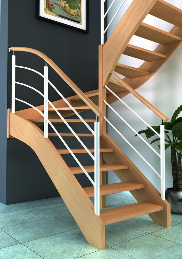escaliers bois alliage m tal groupe riaux escaliers. Black Bedroom Furniture Sets. Home Design Ideas