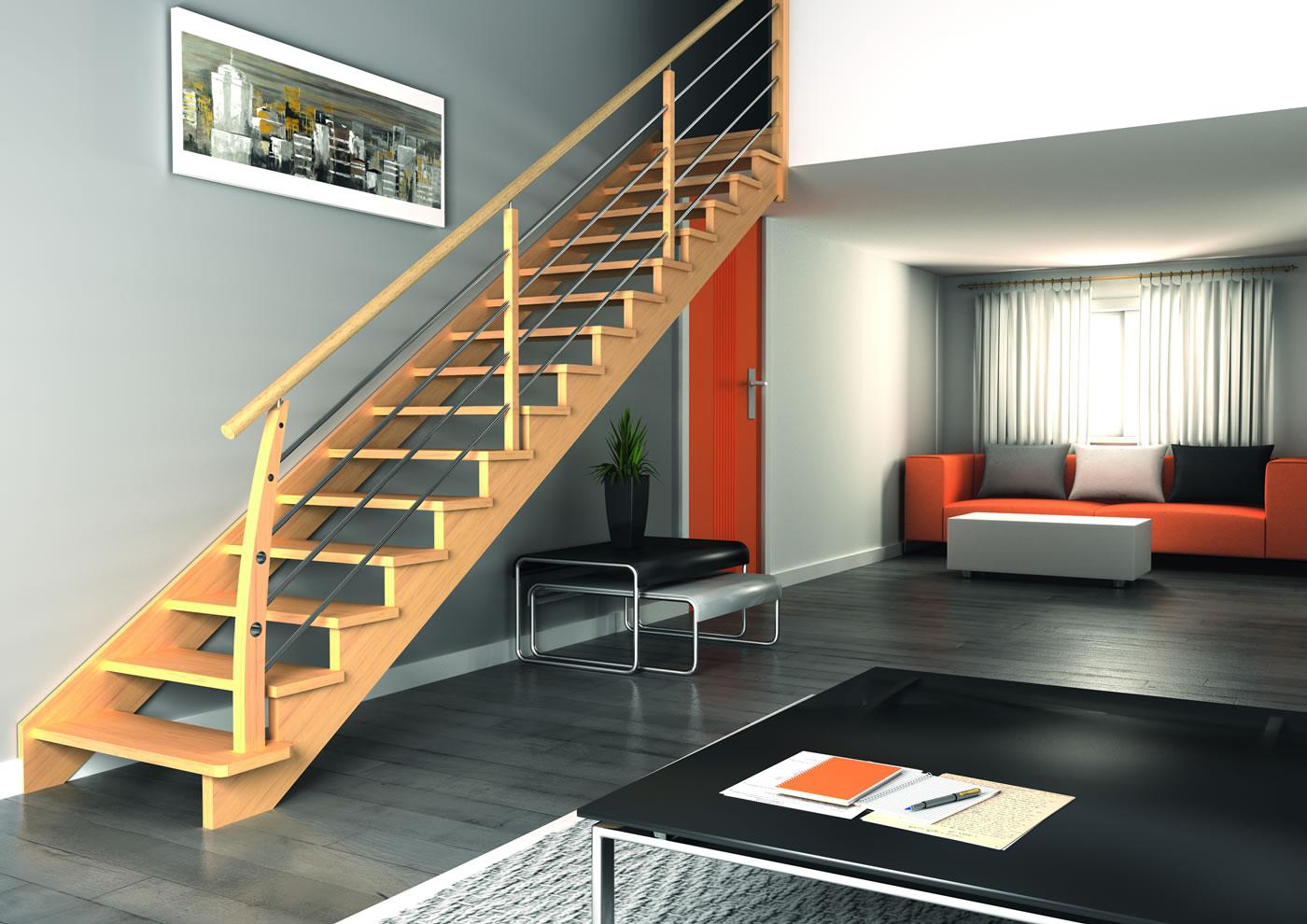 escaliers bois volution groupe riaux escaliers. Black Bedroom Furniture Sets. Home Design Ideas