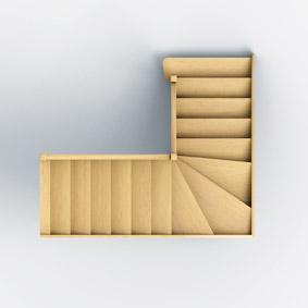 escaliers 1 4 tournants groupe riaux escaliers. Black Bedroom Furniture Sets. Home Design Ideas