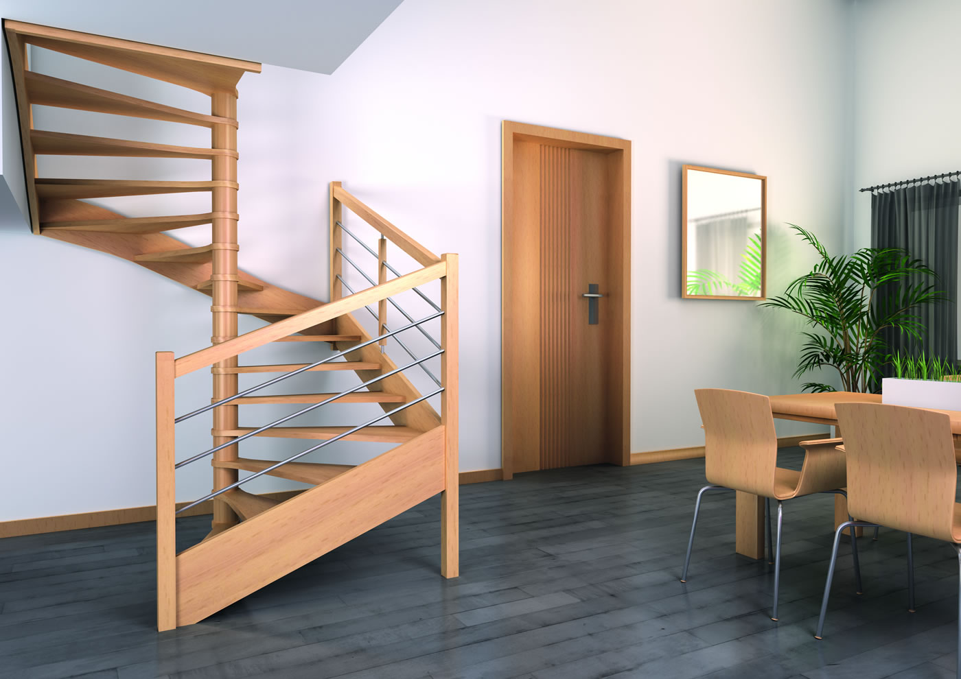 top escaliers bois authentique groupe riaux escaliers repeindre un escalier sans poncer with. Black Bedroom Furniture Sets. Home Design Ideas