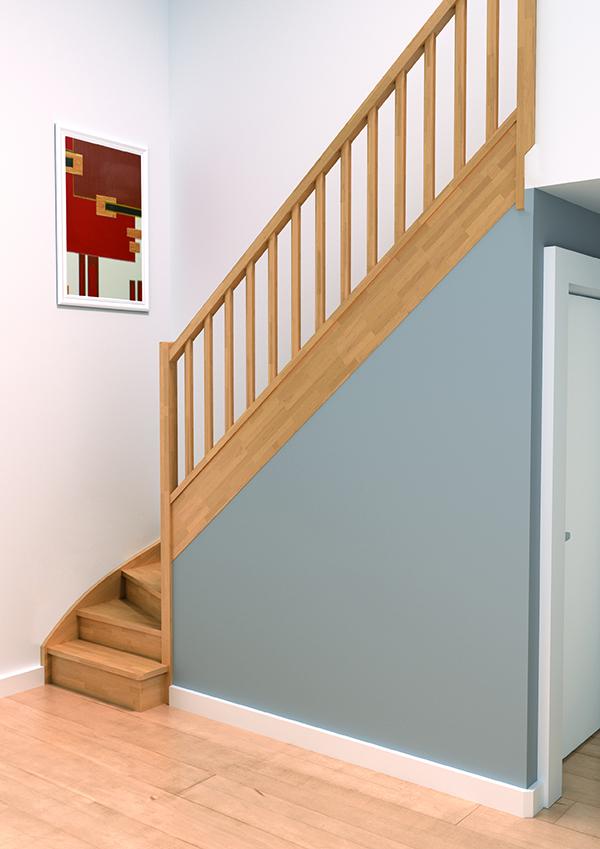 Escaliers Bois Authentique Groupe Riaux Escaliers