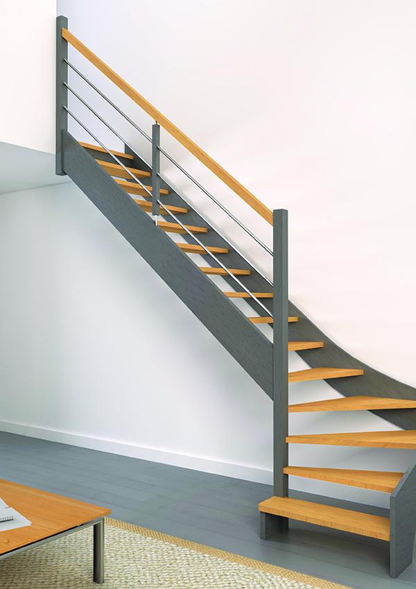Escaliers bois authentique - Groupe RIAUX Escaliers