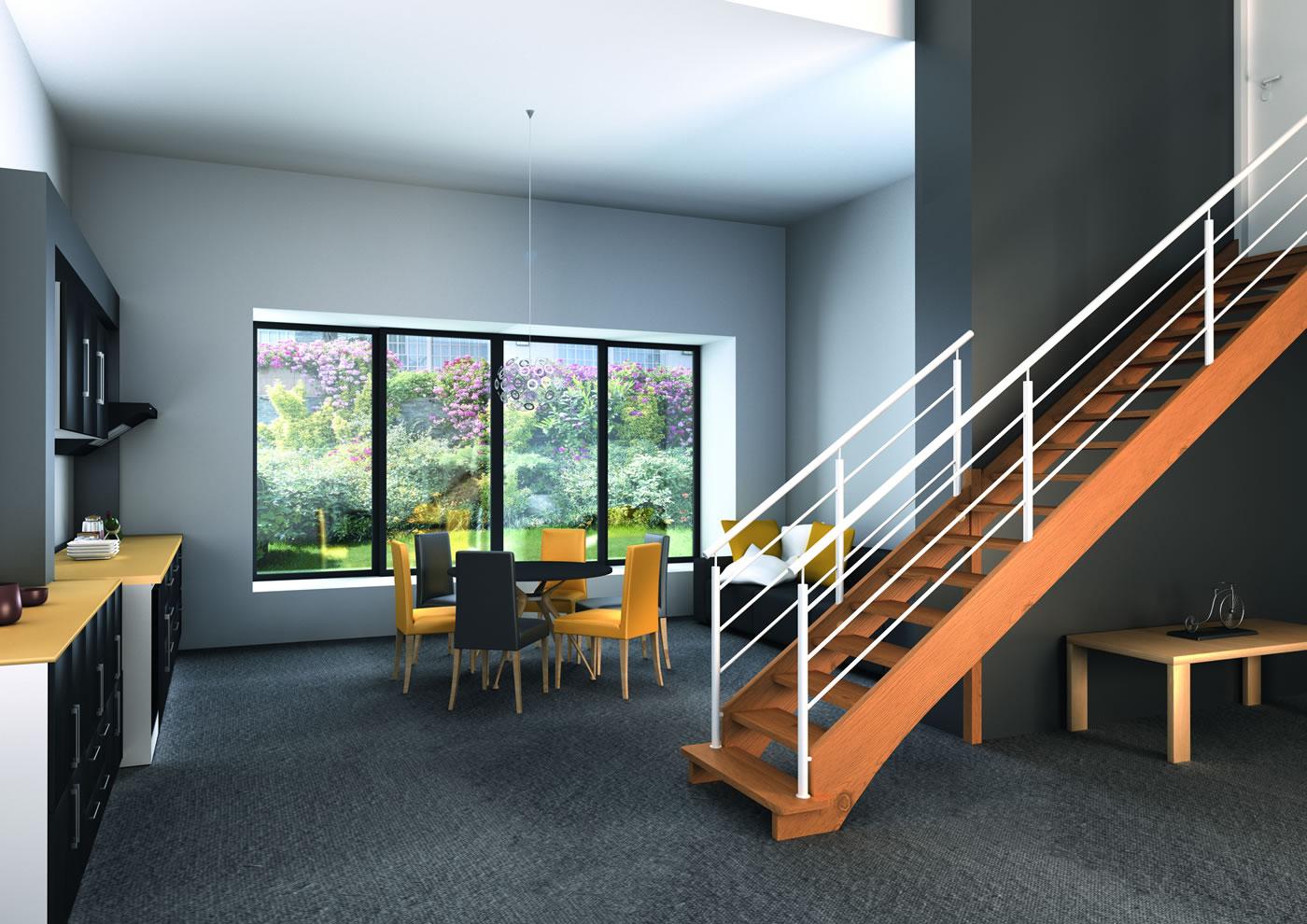 escaliers m talliques fusion groupe riaux escaliers. Black Bedroom Furniture Sets. Home Design Ideas